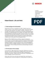 Robert Bosch Life and Work