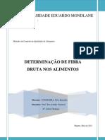 FIBRA BRUTA - CONDOEIRA,Silva