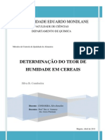 RELATORIO DE HUMIDADE - CONDOEIRA,Silva