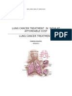 Lung Cancer Treatment in India at Mumbai at Low Cost