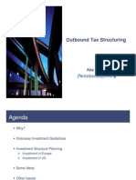 Outbound Tax Structuring