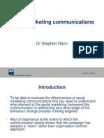 Social Marketing Communications 3838