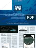 Feed formulation flexibility - Understanding the specific nutrient requirements of shrimp enables feed formulation flexibility in times of challenging commodity pricing