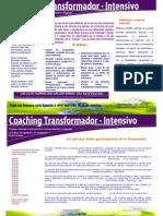 Formación Coaching Transformador