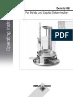 Operating Instructions Density Kit (OP-En)