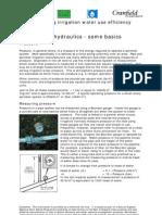 Hydraulic Basics