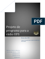 projeto rádio ufs