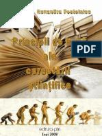 Principii de Baza Ale Cercetarii Stiintifice