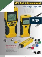 VDV Test and Measurement Brochure