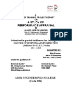 Performance Appraisal Allied Nippon