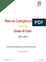 Plano Regional Para Ondas de Calor 2011 2012 - FINAL