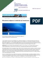 Mecanismos religiosos ó evidencias que transforman | AlientoDiario.com| Devocionales Cristianos.