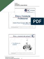 Etica y Conducta Profesional