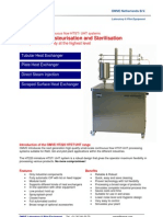 HT220 - HTST UHT Laboratory System | Food processing | Pasteurization and Sterilization | Research and Development