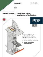 28-SB-Ballast Pumps Liquid in Cofferdam