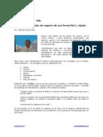 Publicación de misión y visión simple
