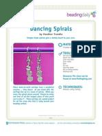 Dancing Spirals Earrings