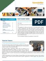 EI Newsletter No1 Aug2011