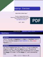 Chapter III - Mapping - Exercises