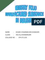 Chemistry Folio