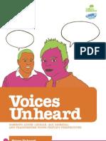 Voices Unheard Nationa Report