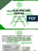 Configuracion DNS en Debian Alejandra Arredondo 175666