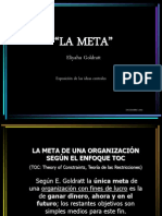 Goldratt, Eliyahu - La Meta (Resumen en Power Point)