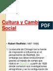 Cultura y Cambio Social