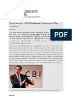 Scrutinising the UK PM's National Infrastructure Plan