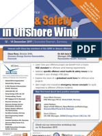 Health & Safety in Offshore Wind Conference
