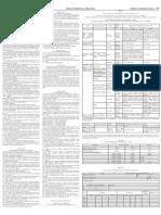 Resolução 10 Seplag Frequência no serviço público Estadual de Minas Gerais. Quadro de Horários para a carreira de ASP.