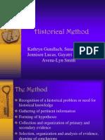 Historical Method 3