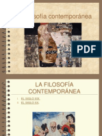 Filsofia contemporanea