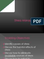 Stress Management General