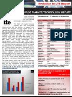 GSA Evolution to Lte Report 310811