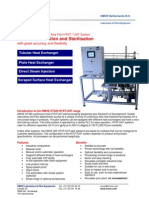 HT320 - HTST UHT Pilot Plant for Food Processing | Research and Development System | Aseptic or Higienic