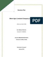 Business Plan-Bkem Agro Livestock Company Limited