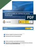 Ley de vertidos España