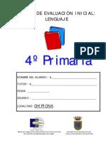 PRUEBA DE LENGUA 4º