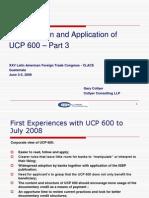 Interpretation of UCP 600 by Gary