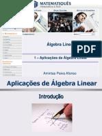 1 – Aplicações da Álgebra Linear