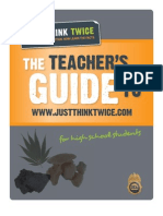 Just Think Twice Teachers Guide 2011 - DEA