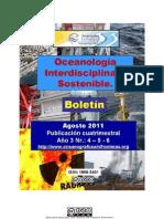 01.09.2011 Boletín Oceanología Interdisciplinaria Sostenible