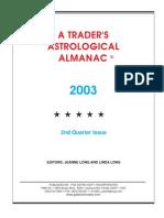 2nd Quarter 2003 Almanac