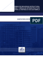 NORMAS DE SEGURIDAD ESTRUCTURAL DE EDIFICACIONES Y OBRAS DE INFRAESTRUCTURA PARA LA REPÚBLICA DE GUATEMALA