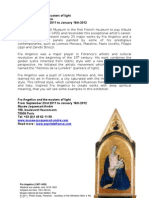 Fra Angelico and the masters of light