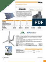 Catálogo de Seguridad - Sección de Energía Solar