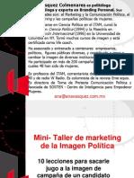 Mini- Taller de marketing de la Imagen Política - Ana VAsquez Colmenares