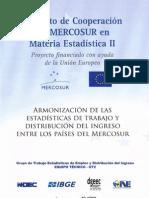 Armonización de las estadísticas de trabajo y distribución del ingreso entre los países del Mercosur