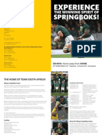 South African Rugby World Cup Hospitality Centre